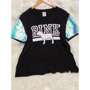 PINK Blinged Out Shirt